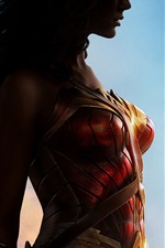 Preview iPhone wallpaper 2017 movie, Wonder Woman