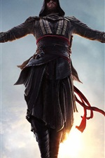 Preview iPhone wallpaper Assassin's Creed, jump