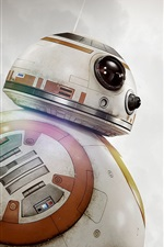 Preview iPhone wallpaper BB-8 robot, Star Wars: The Force Awakens