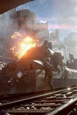 Battlefield 1, ruínas, trem