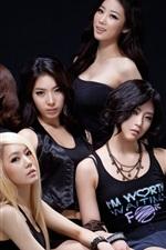 Meninas bravos, grupo de música coreana 01