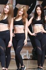 Preview iPhone wallpaper Brave Girls, Korean music group 03