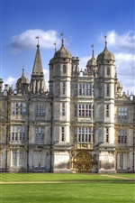 Preview iPhone wallpaper Burghley House, travel to England