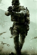 Preview iPhone wallpaper Call of Duty: Modern Warfare, Remastered