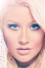 Preview iPhone wallpaper Christina Aguilera 17