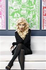 Preview iPhone wallpaper Christina Aguilera 18