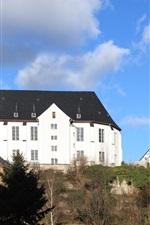 Preview iPhone wallpaper Church, Schwarzenberg, Germany