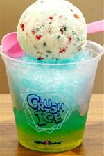 iPhone обои Красочный побрился лед, сливки мяч, десерт, летние холодные напитки