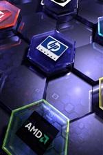 logotipos de marcas de hardware de computador