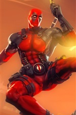 Preview iPhone wallpaper Deadpool, Marvel comics superhero