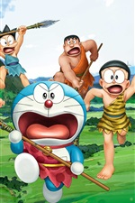 Preview iPhone wallpaper Doraemon 2016 movie