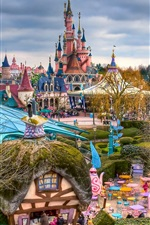 Preview iPhone wallpaper Fantasyland, Disneyland, Paris, France