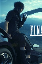 Preview iPhone wallpaper Final Fantasy XV PS4 game