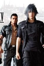 Preview iPhone wallpaper Final Fantasy XV