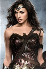 Preview iPhone wallpaper Gal Gadot as Wonder Woman 2017