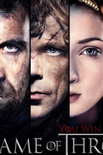 Preview iPhone wallpaper Game of Thrones, You win or you die