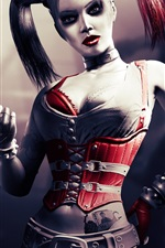 Preview iPhone wallpaper Harley Quinn in Batman movie