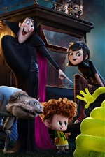 Preview iPhone wallpaper Hotel Transylvania 2