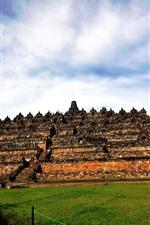 Preview iPhone wallpaper Indonesia World Heritage, Yogyakarta