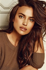 Preview iPhone wallpaper Irina Shayk 17