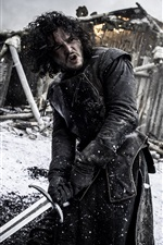 Preview iPhone wallpaper Jon Snow, Game of Thrones, TV series