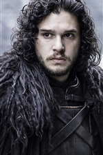Preview iPhone wallpaper Jon Snow in Game of Thrones
