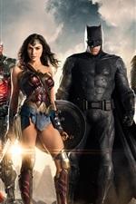 Vorschau des iPhone Hintergrundbilder Justice League 2017