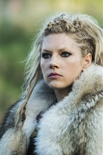 Preview iPhone wallpaper Katheryn Winnick in Vikings
