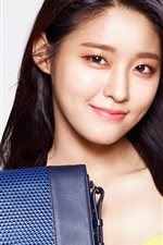Preview iPhone wallpaper Korean girls, Seolhyun 06