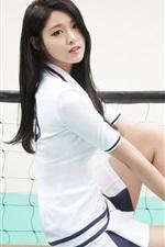 Preview iPhone wallpaper Korean girls, Seolhyun 07