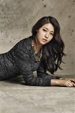 Preview iPhone wallpaper Korean girls, Seolhyun 08