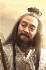 Preview iPhone wallpaper League of Gods 2016, Jet Li, Chinese movie