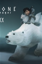 Preview iPhone wallpaper Never Alone, PC game