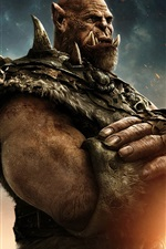 Preview iPhone wallpaper Orgrim in Warcraft 2016