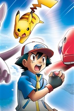 Preview iPhone wallpaper Pokemon, classic anime