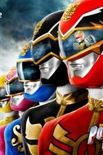Preview iPhone wallpaper Power Rangers: Megaforce, TV series