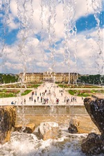 Preview iPhone wallpaper Schonbrunn Palace, Vienna, Austria