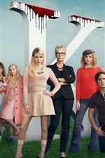 Preview iPhone wallpaper Scream Queen, TV Series