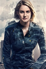 Preview iPhone wallpaper Shailene Woodley as Tris, Allegiant 2016