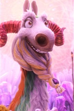Preview iPhone wallpaper Shangri llama in Ice Age 5