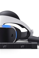 Preview iPhone wallpaper Sony PlayStation VR close-up