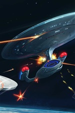 iPhone обои Star Trek 2017 серии ТВ