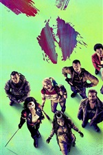 Preview iPhone wallpaper Suicide Squad 2016 HD