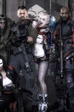 Preview iPhone wallpaper Suicide Squad 2016
