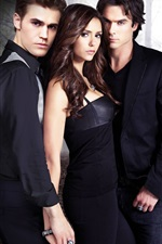 Preview iPhone wallpaper TV series, The Vampire Diaries HD