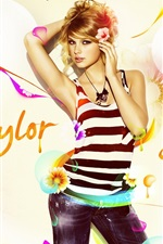 Preview iPhone wallpaper Taylor Swift 86