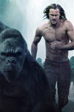 Preview iPhone wallpaper The Legend of Tarzan 2016