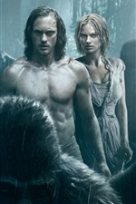 Preview iPhone wallpaper The Legend of Tarzan HD