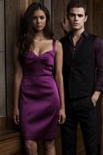 미리보기 iPhone 배경 화면 뱀파이어 다이어리, CW의 TV 시리즈