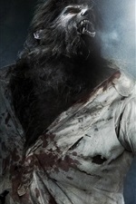 Preview iPhone wallpaper The Wolfman, 2010 movie